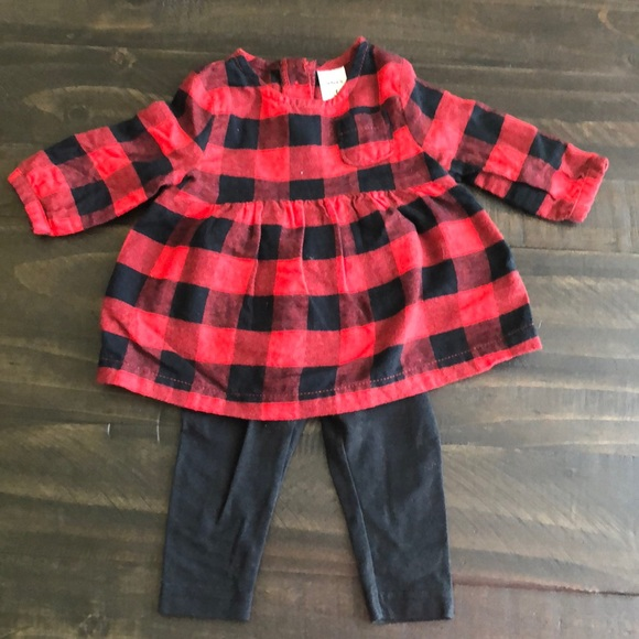 Carter's Other - Buffalo check outfit